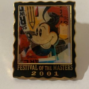 Festival of Masters 2001 Disney Mickey Pin